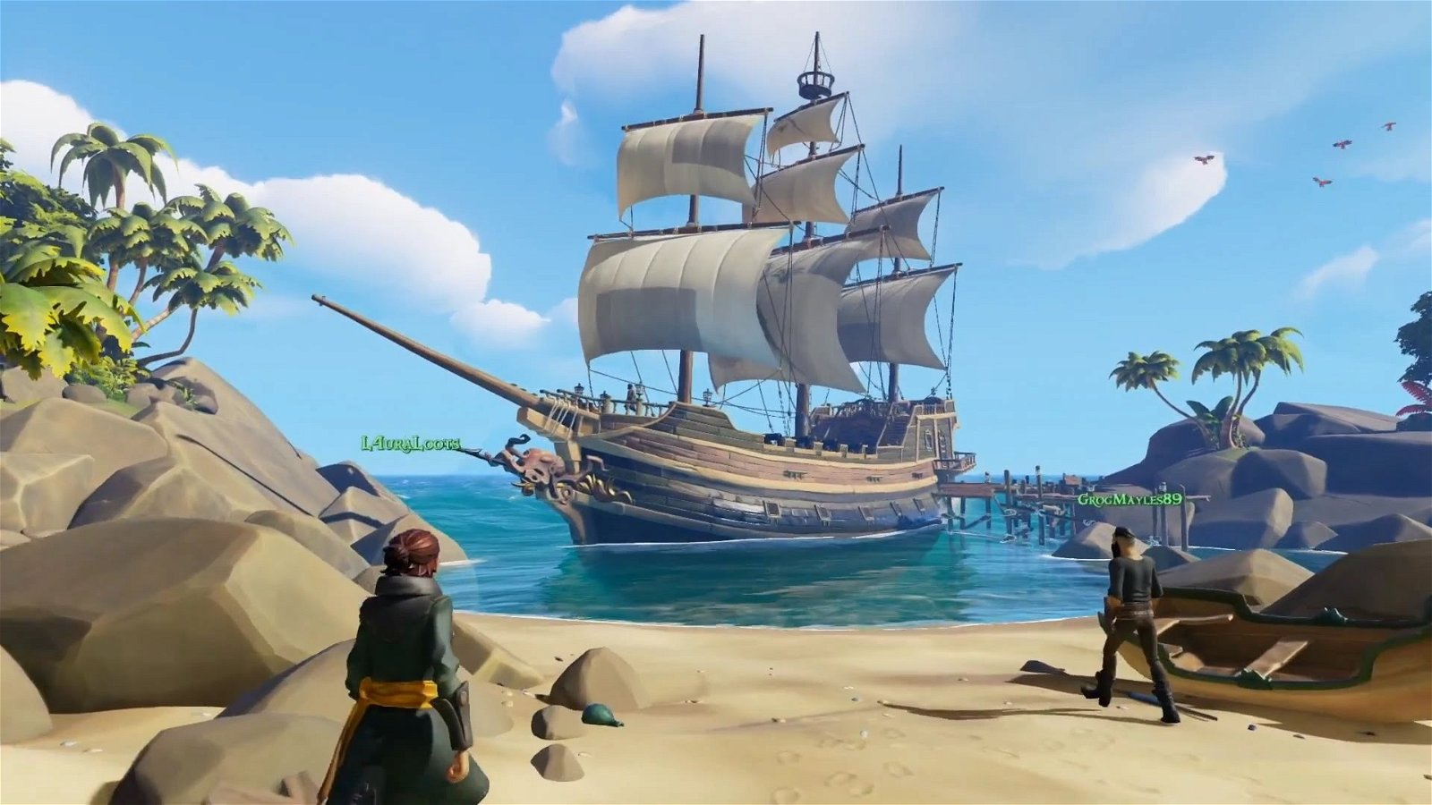 Sea of Thieves muestra un nuevo gameplay de su cooperativo