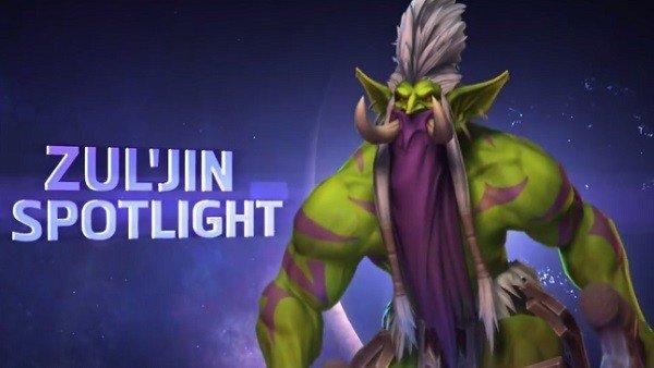 Heroes of the Storm presenta a Zul'jin en un nuevo tráiler