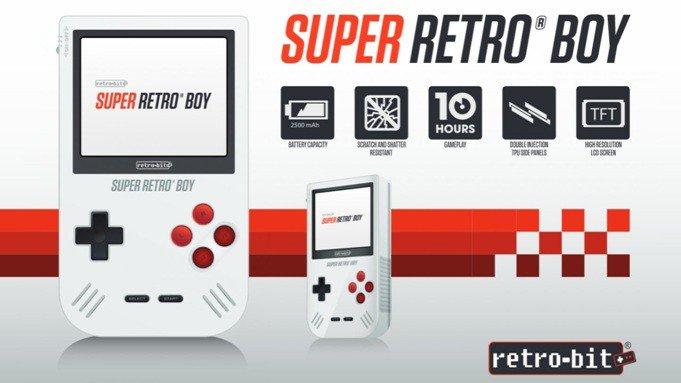 Super Retro Boy, la nueva consola compatible con los juegos de Game Boy