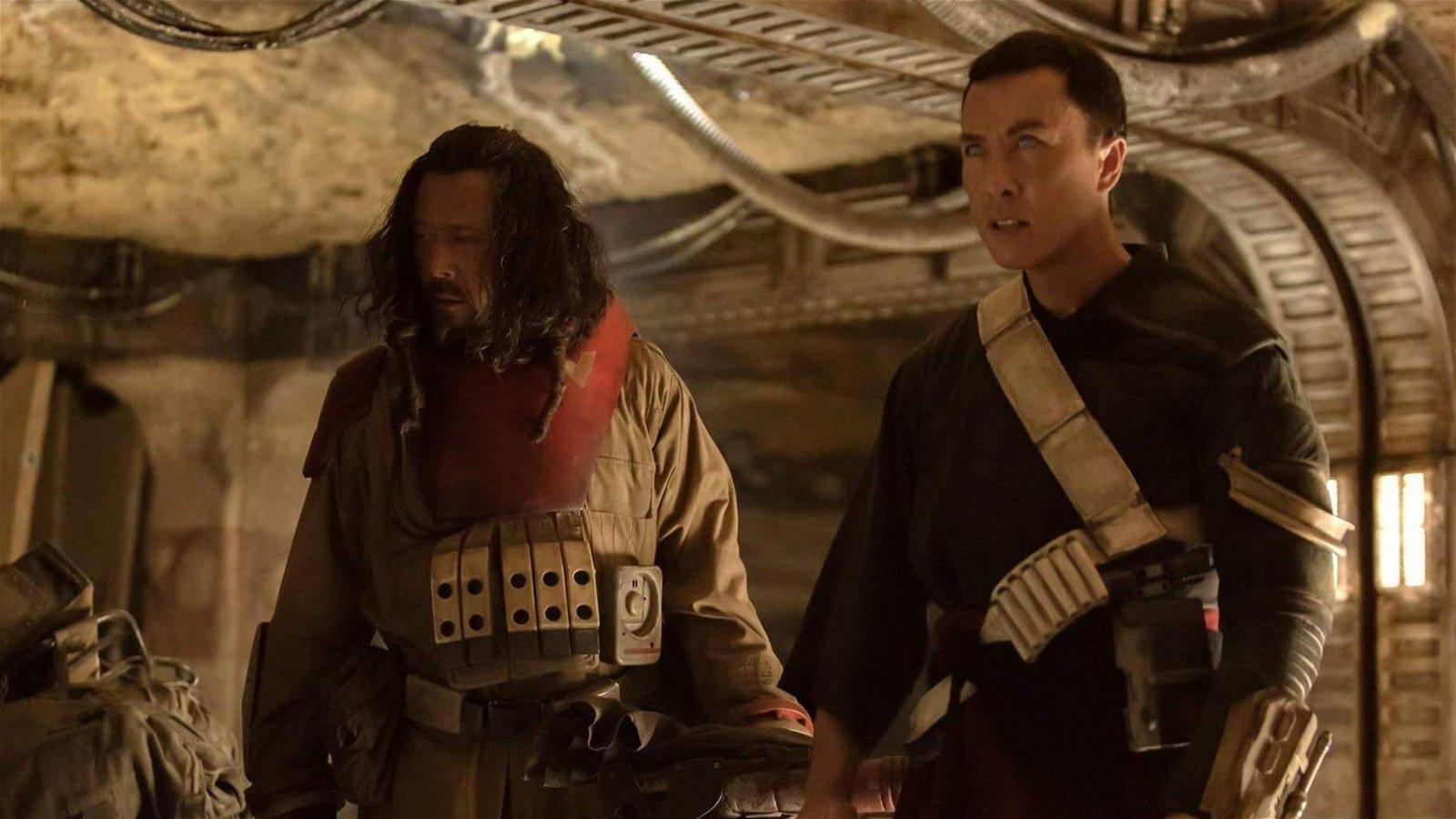 Rogue One tiene estos fanarts sobre la relación entre Chirrut y Baze