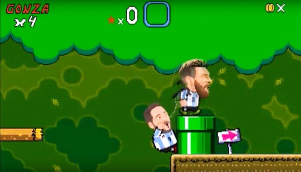 Super Mario Bros. tiene una parodia protagonizada por Cristiano Ronaldo