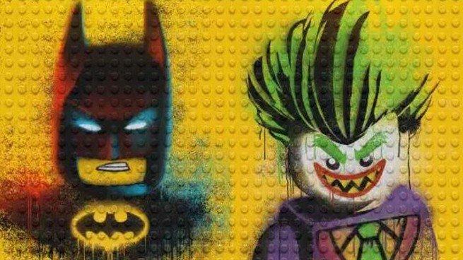 LEGO Batman: La película luce sus nuevos pósters estilo graffiti