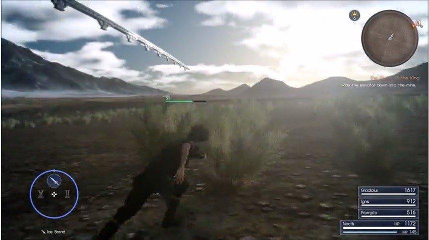 Final Fantasy XV: Encuentran un glitch para explorar Niflheim