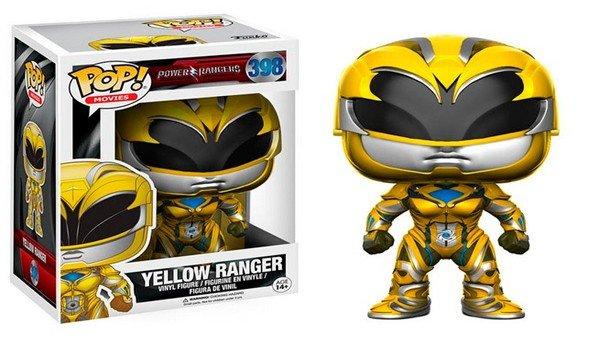 La nueva película de Power Rangers presenta sus figuras Funko Pop