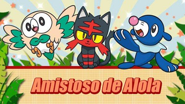 Pokémon Sol/Luna detalla el Amistoso de Alola, su nuevo torneo online