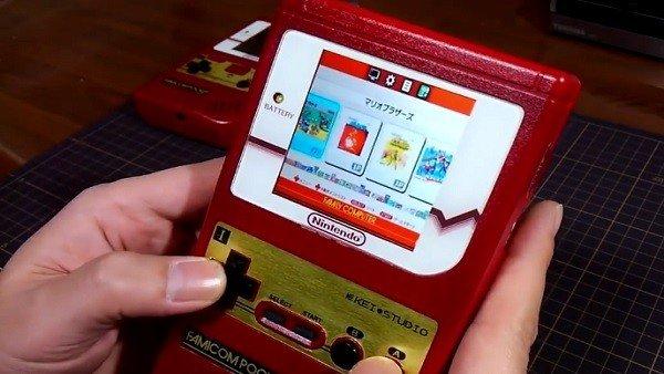 Consigue crear una NES portátil en su antigua Game Boy