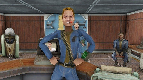 Fallout 4 se convierte en un shooter de los 90 gracias a un mod