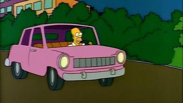 Los Simpson revelan qué marca de coche conduce Homer