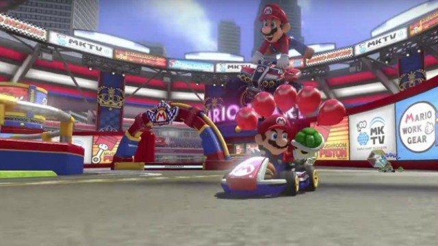 Mario Kart 8 Deluxe llegará a Switch el 28 de abril