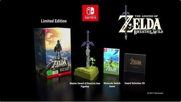 The Legend of Zelda: Breath of the Wild contará con una edición coleccionista en Europa