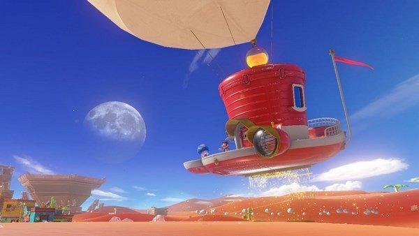 Los escenarios de Super Mario Odyssey se dejan ver en un evento japonés