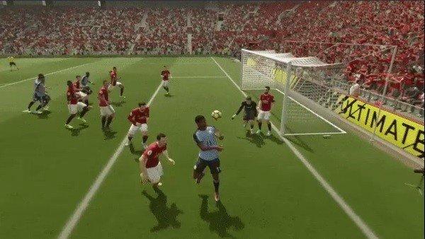 FIFA 17 tiene candidato a gol tonto del año
