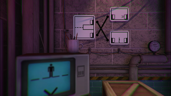 The Pedestrian, el curioso juego de puzles con protagonista 2D en escenarios 3D