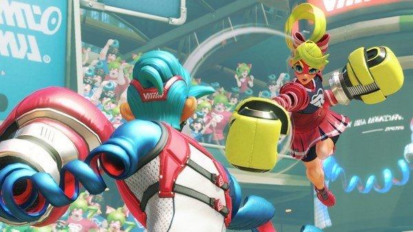 ARMS desvela nuevas armas y cinco personajes en dos nuevos tráilers