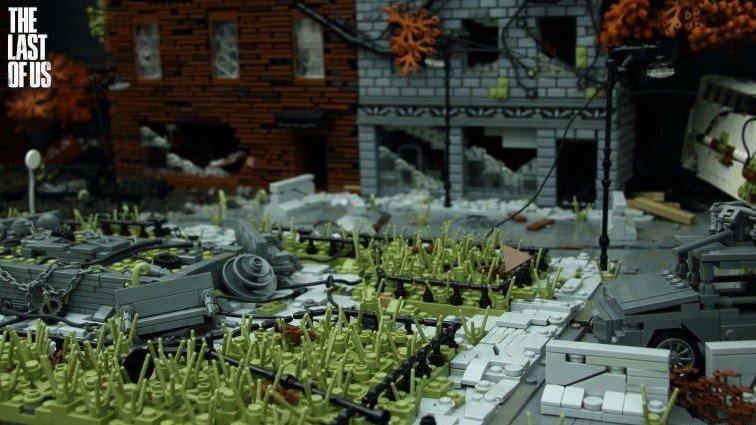 The Last of Us: Recrean su universo con bloques de LEGO