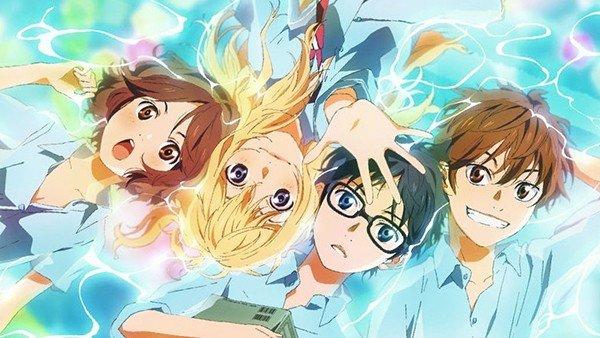 No Solo Gaming: Your Lie in April, el anime