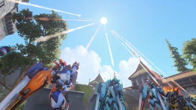 Jugadores de Overwatch rinden tributo a un fallecido con salva de cañones