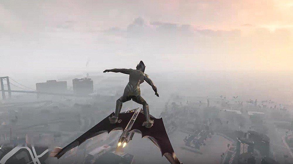 Grand Theft Auto V recibe al Duende Verde de Spider-Man con un mod