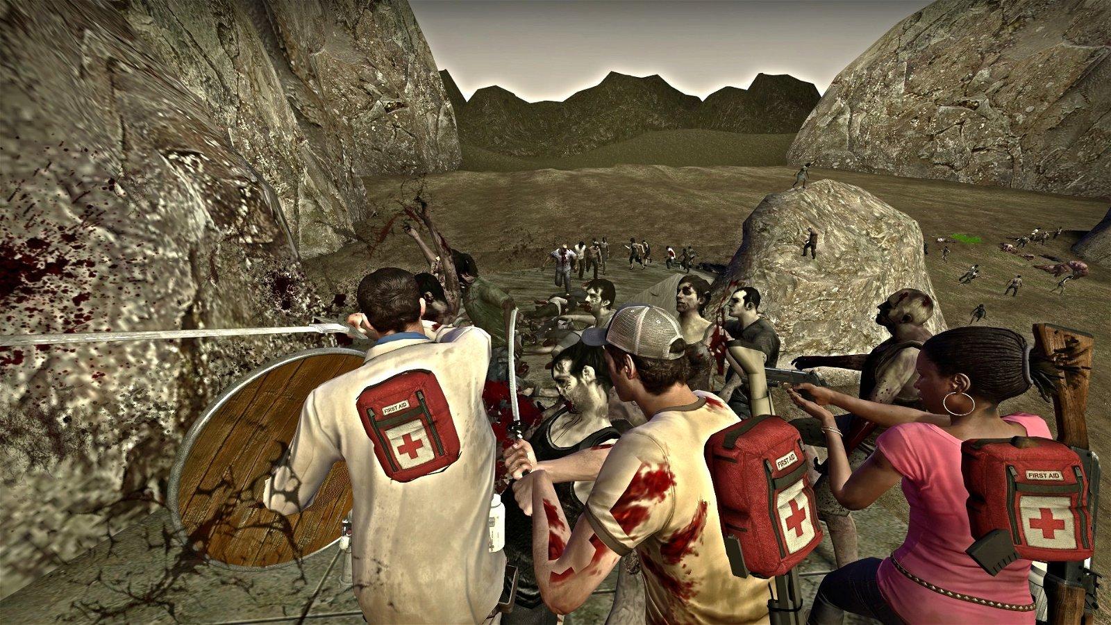 El Señor de los Anillos: Recrean la batalla del Abismo de Helm en Left 4 Dead 2