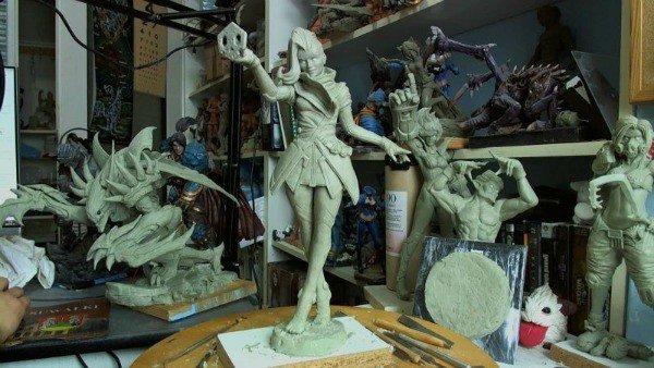 Overwatch:  Un artista crea estas alucinantes figuras