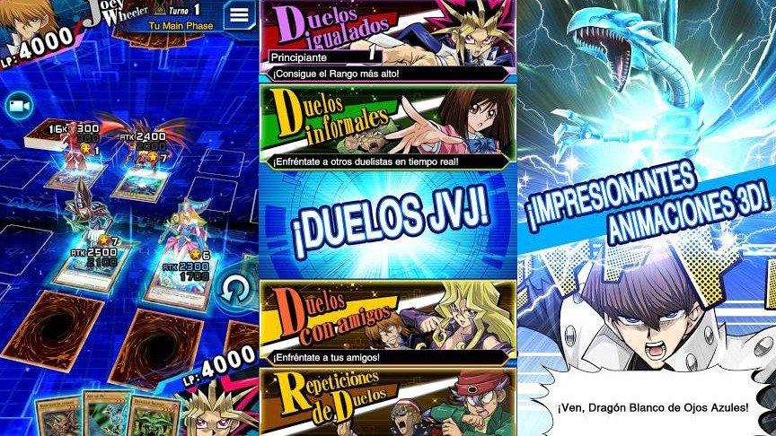 Yu-Gi-Oh ya tiene un nuevo juego gratuito para móviles