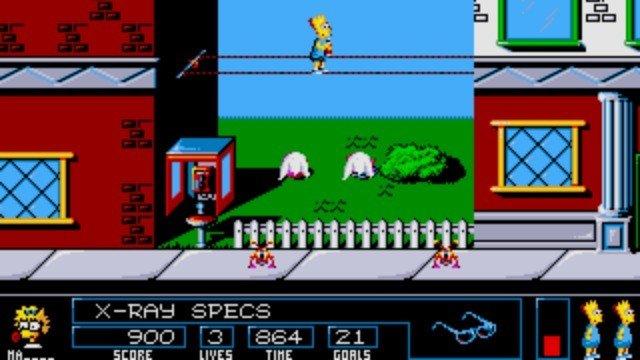 The Simpsons: Bart vs. The Space Mutants, mañana en nuestro AlfaBetaRETRO