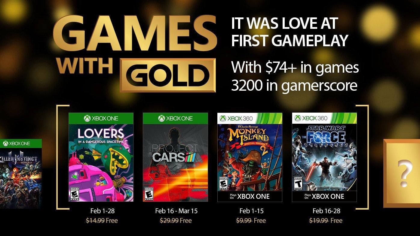Games with Gold desvela sus juegos gratuitos para febrero de 2017