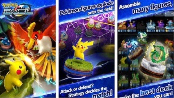 Pokémon Duel, el nuevo título de figuras interactivas para móviles