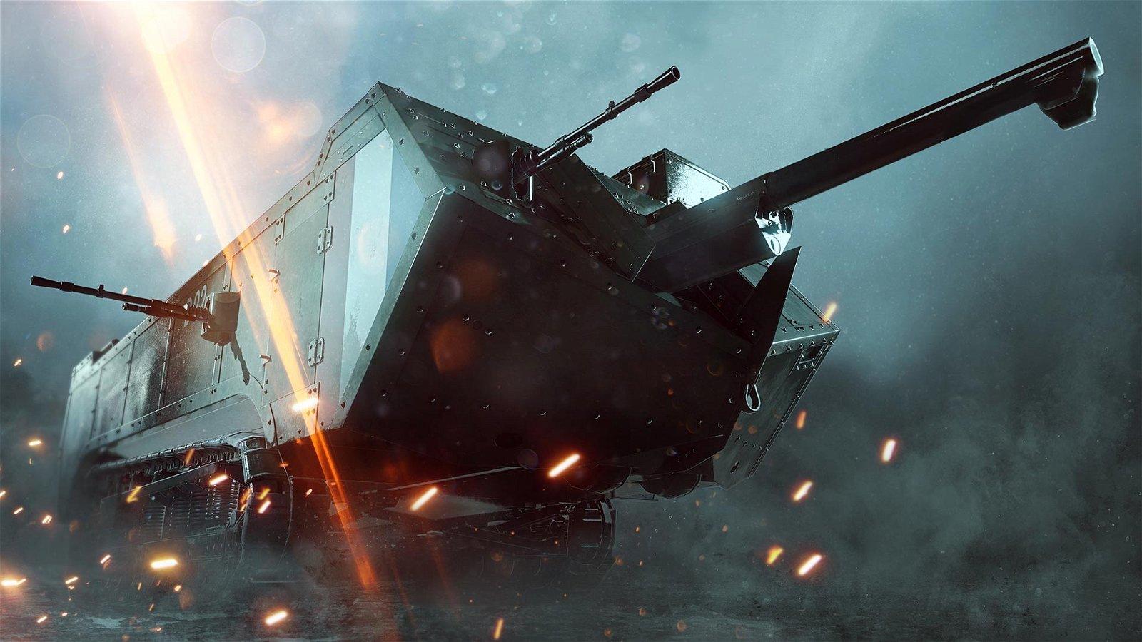 Battlefield 1 presenta su nuevo modo de juego 'El frente'