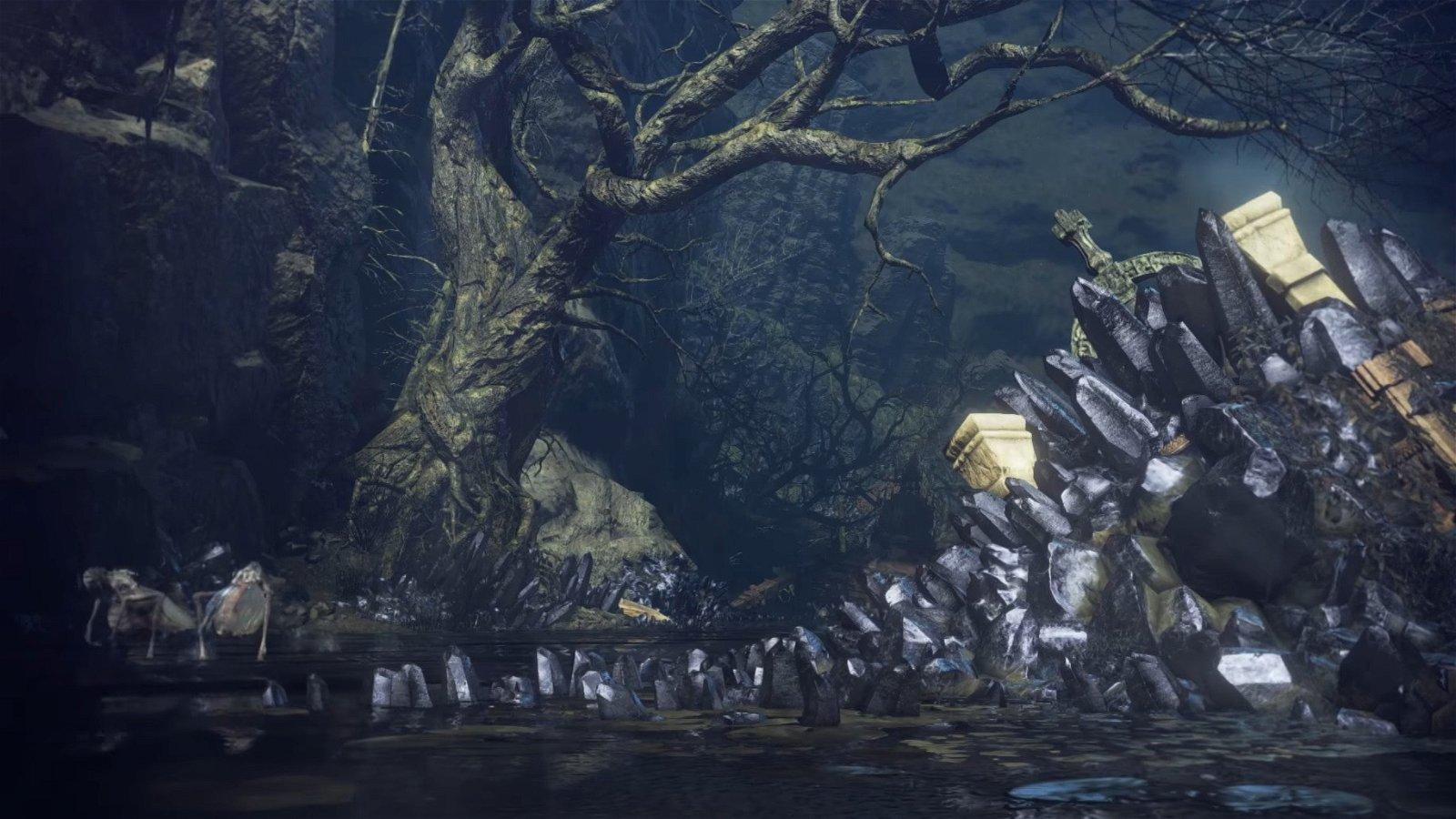 Dark Souls 3: La Ciudad Anillada se muestra en un nuevo gameplay