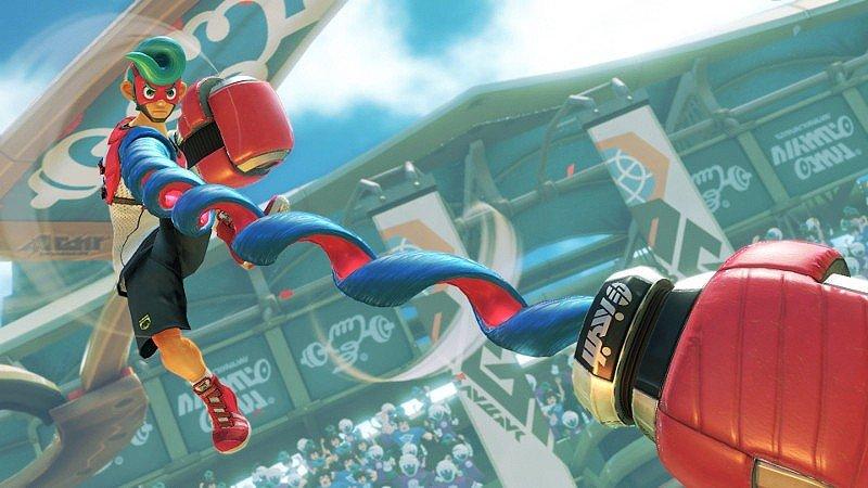 ARMS aterrizará en junio en Nintendo Switch