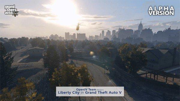 GTA V: Liberty City es recreada gracias a un mod