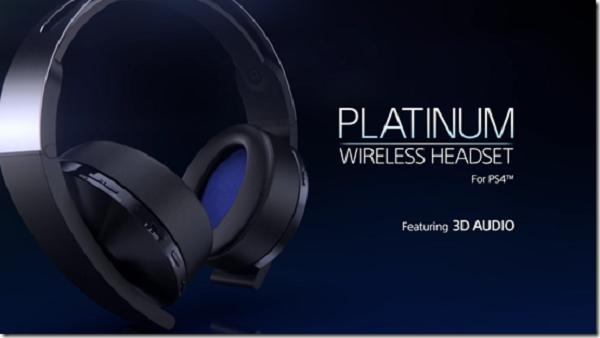 Sony presenta los nuevos Platinum Wireless Headset para PlayStation 4