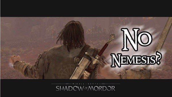 La Tierra Media- Sombras de Mordor: Un jugador termina el juego sin emplear el sistema Nemesis