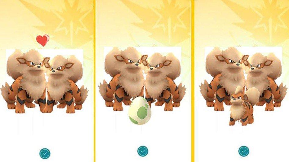 Pokémon GO podría introducir la cría en el evento de San Valentón