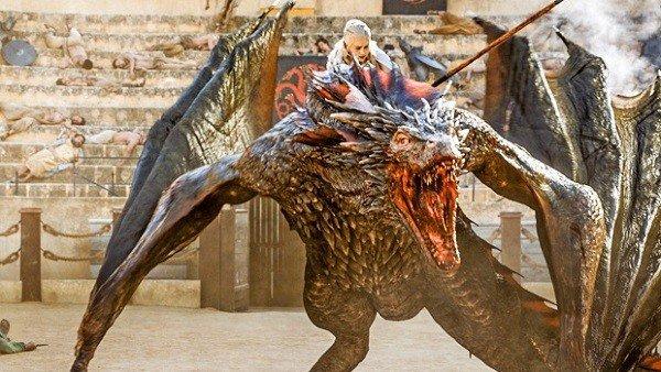 Juego de Tronos: Unas imágenes del rodaje revelan una batalla con dragones