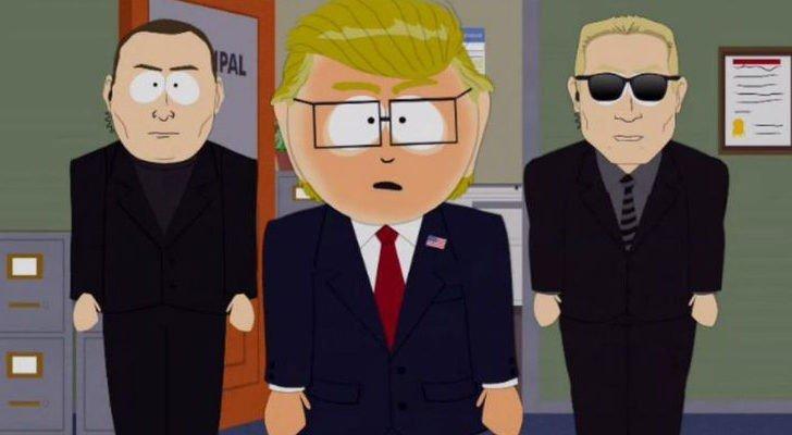 South Park se acobarda con sus críticas a Donald Trump