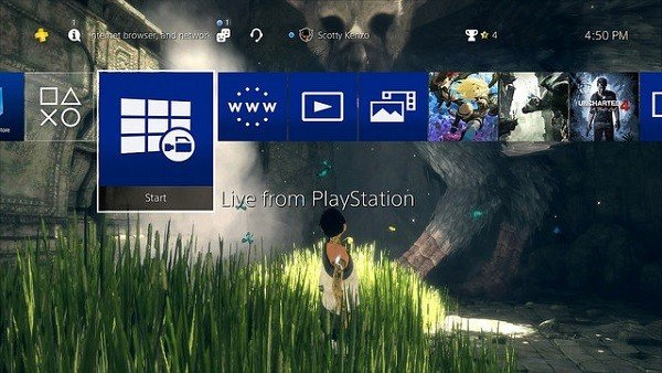 PlayStation 4 añade el soporte para discos duros externos en su versión 4.50