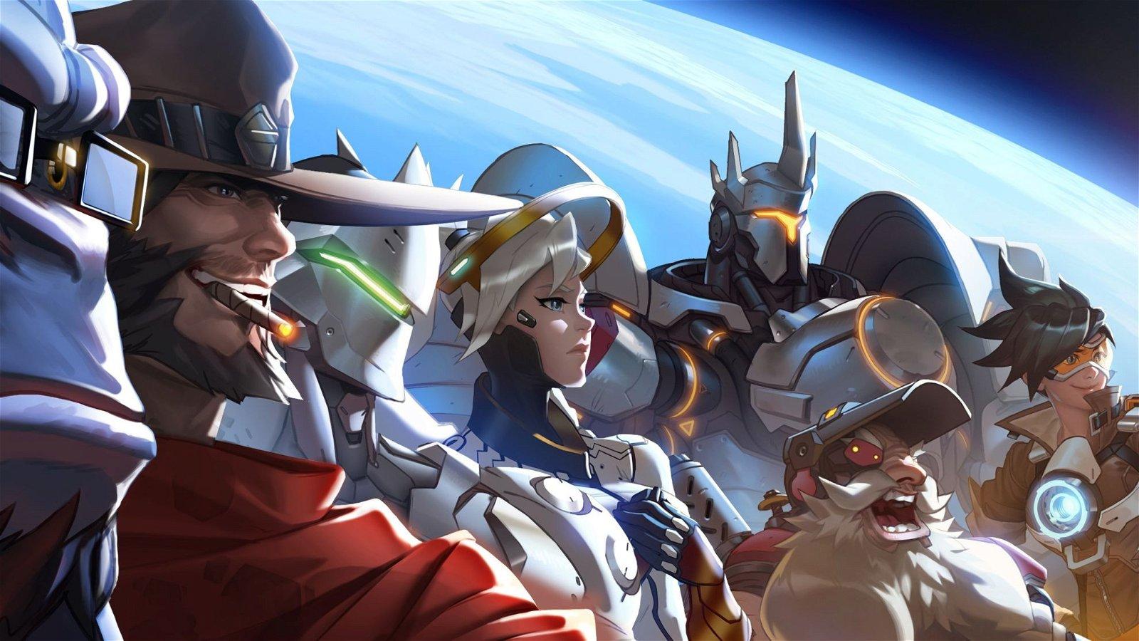 Overwatch: Las diferencias entre una partida rápida y una competitiva