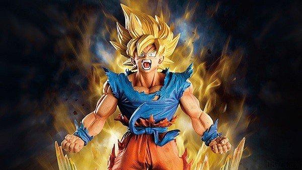 Dragon Ball Z: Presentan una nueva figura de Son Goku en estado Super Saiyan