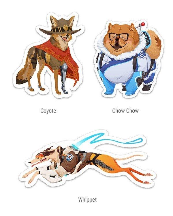 Overwatch: Así es como serían los Héroes de Blizzard si fuesen perros