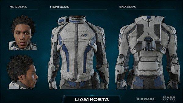 Mass Effect: Andromeda enseña los diseños de sus personajes al detalle