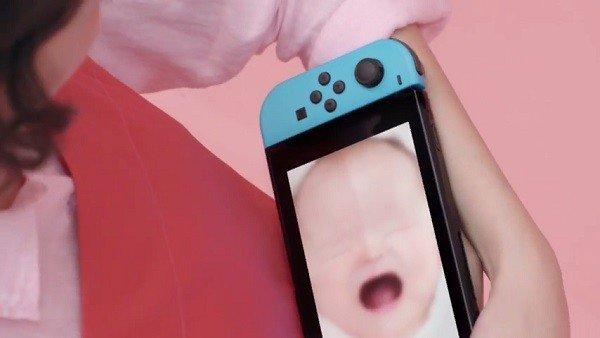 1-2 Switch incluirá un minijuego donde habrá que cuidar a un bebé