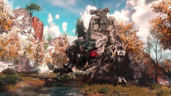 Horizon: Zero Dawn desvela dos dinosaurios robóticos en nuevos vídeos