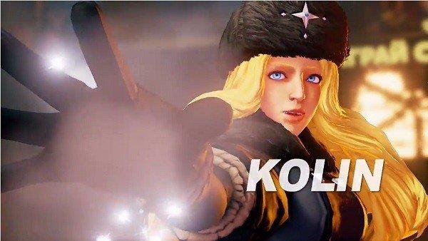 Street Figther V da la bienvenida a su nueva luchadora Kolin