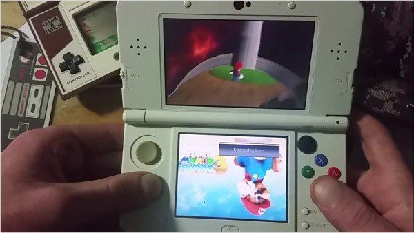 Super Mario Galaxy llega a Nintendo 3DS gracias al trabajo de un fan