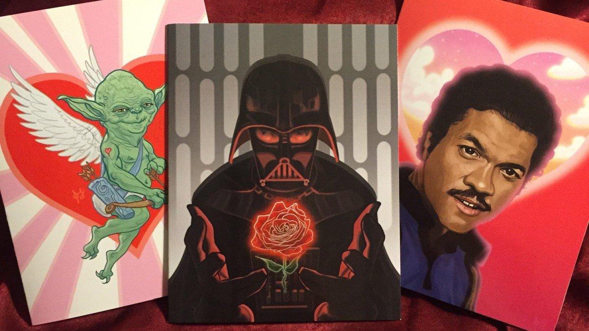 Las mejores tarjetas de San Valentín inspiradas en el cine y las series