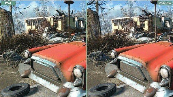 Fallout 4: Las diferencias gráficas en PlayStation 4 Pro después del último parche