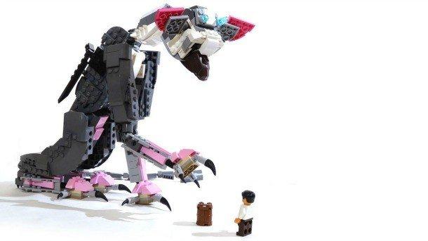 The Last Guardian: Trico se convierte en bloques de LEGO en esta escultura