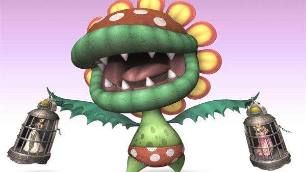 Super Smash Bros.: Descubren a Floro Piraña en el código del juego